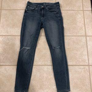 GAP jeans - curvy skinny size 6/28